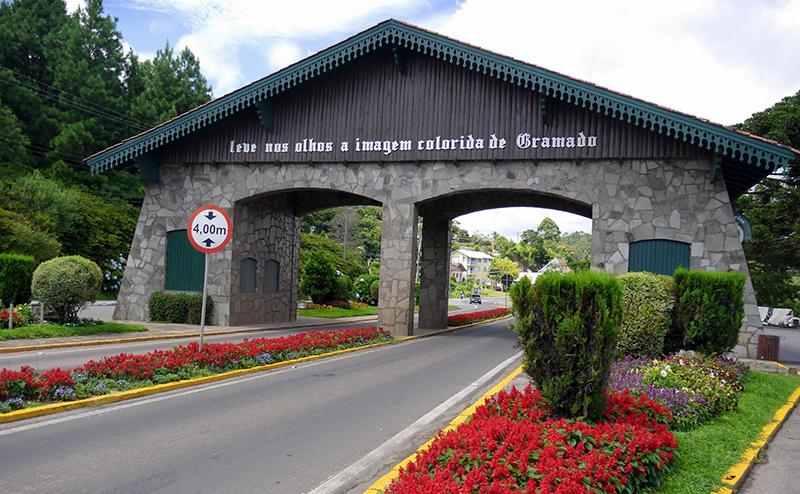 Avenida das Hortênsias em Gramado
