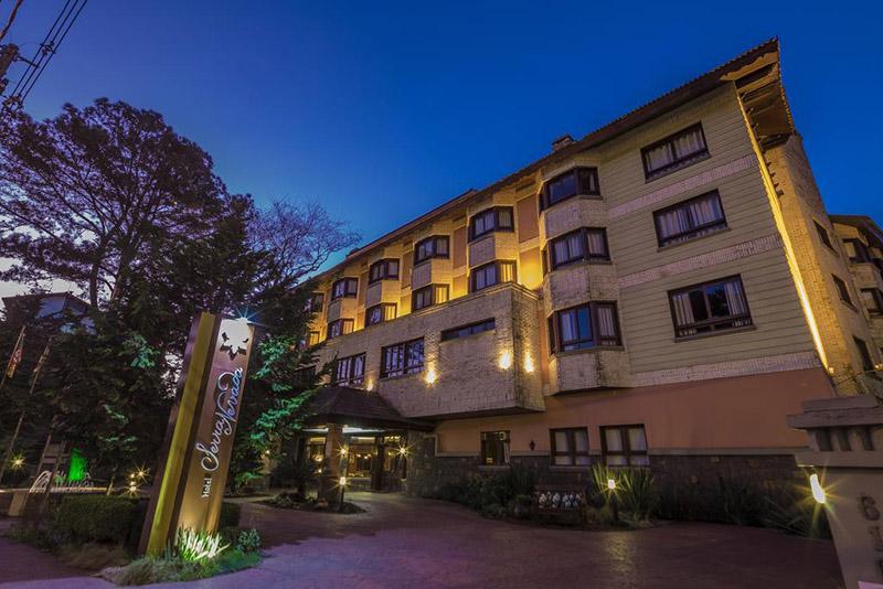 Fachada do Hotel Serra Nevada em Canela