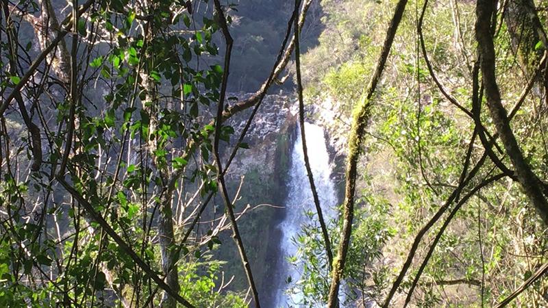 Cachoeira do Parque da Ferradura em Canela