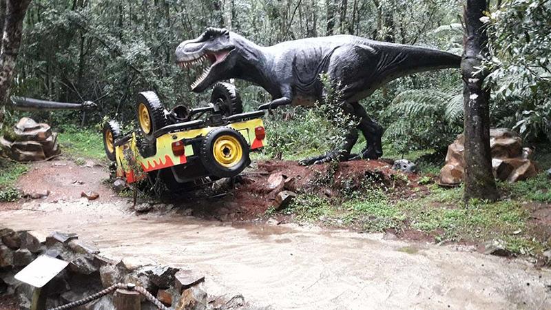 Vale dos Dinossauros em Gramado