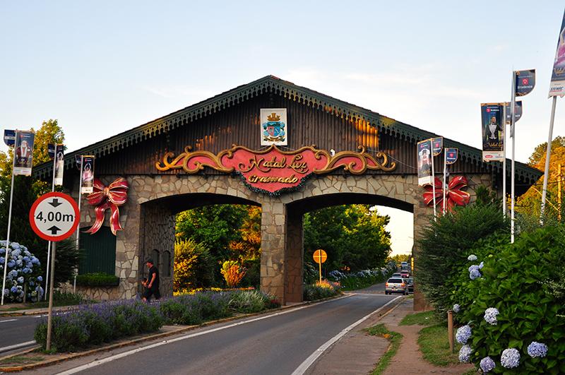 Entrada da cidade de Gramado