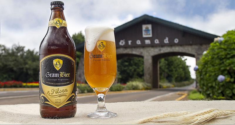 Cerveja Gram Bier de Gramado