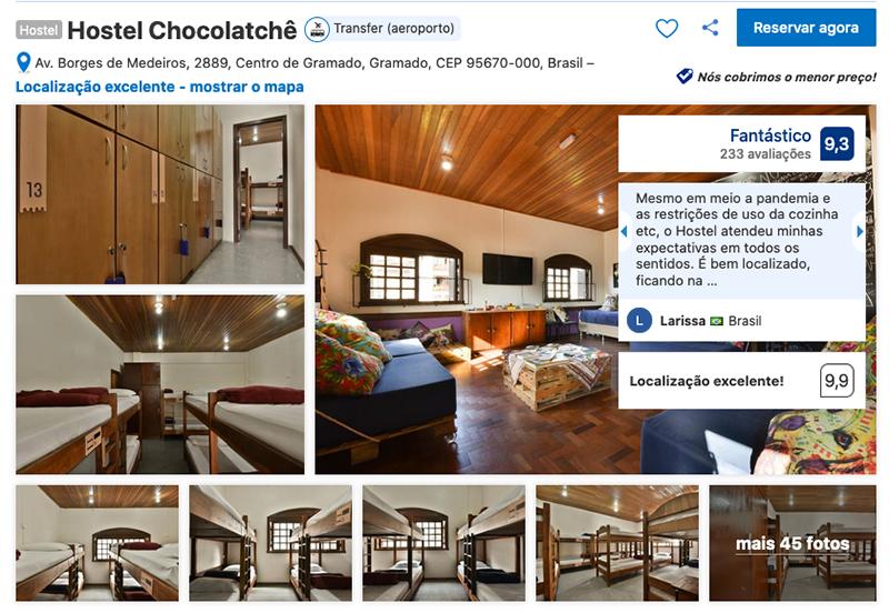 Hostel Chocolatchê em Gramado